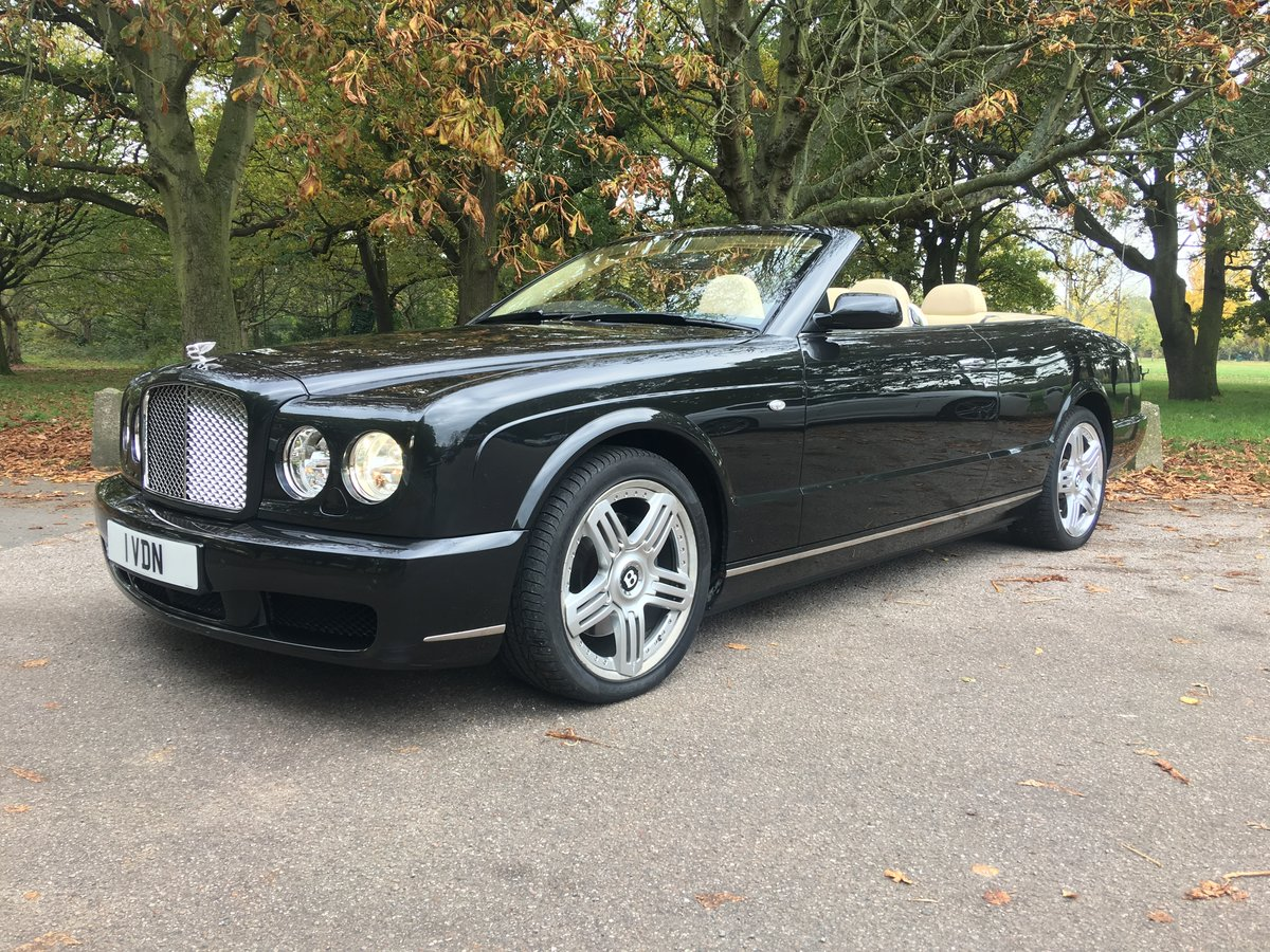 Bentley Azure 2008 Convertible 9,400 miles Stunning Example  SOLD (picture 1 of 6)