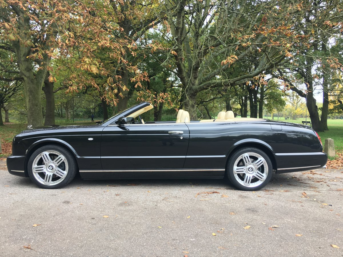 Bentley Azure 2008 Convertible 9,400 miles Stunning Example  SOLD (picture 2 of 6)