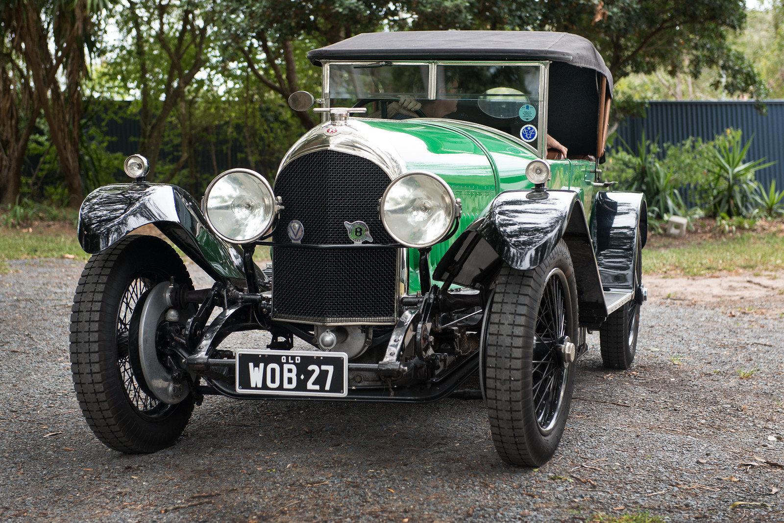 1926 3.0 Litre Bentley Speed Model Vanden Plas Tourer SOLD (picture 1 of 6)