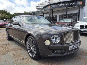 2012 Bentley Mulsanne Muliner Premier Specification