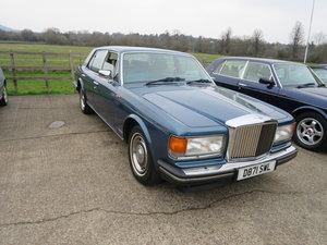 1986 Bentley Mulsanne SOLD