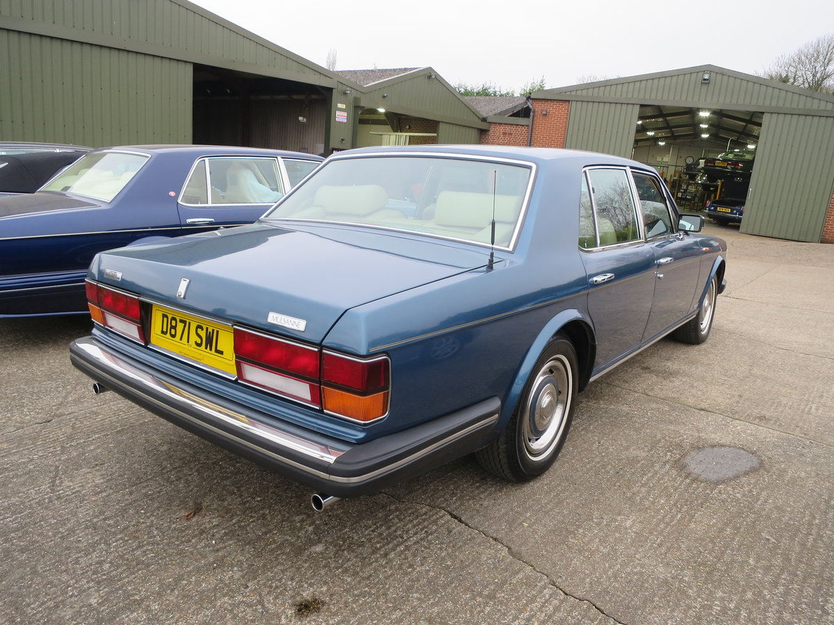 1986 Bentley Mulsanne SOLD (picture 3 of 6)