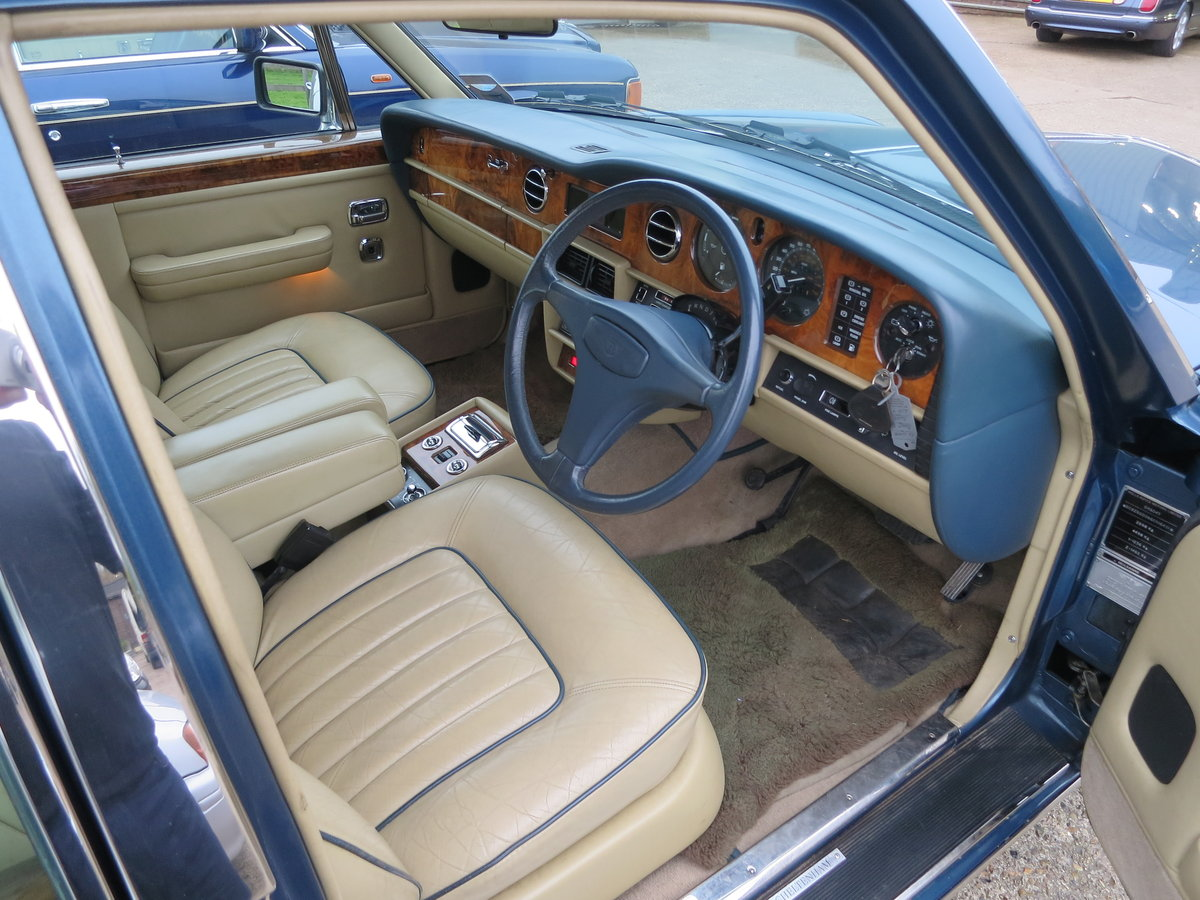 1986 Bentley Mulsanne SOLD (picture 5 of 6)