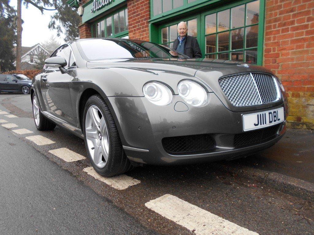 2004 Bentley GT Coupe  SOLD (picture 2 of 4)
