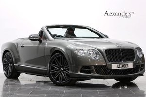 2013 63 BENTLEY CONTINENTAL GTC 6.0 W12 SPEED AUTO