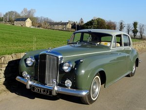 1962 BENTLEY S2, RARE AND ORIGINAL, STUNNING UPHOLSTERY, SOLD by Auction