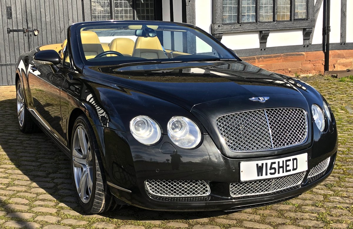 2007 BENTLEY CONTIENTAL GTC Convertible W12 For Sale (picture 1 of 12)