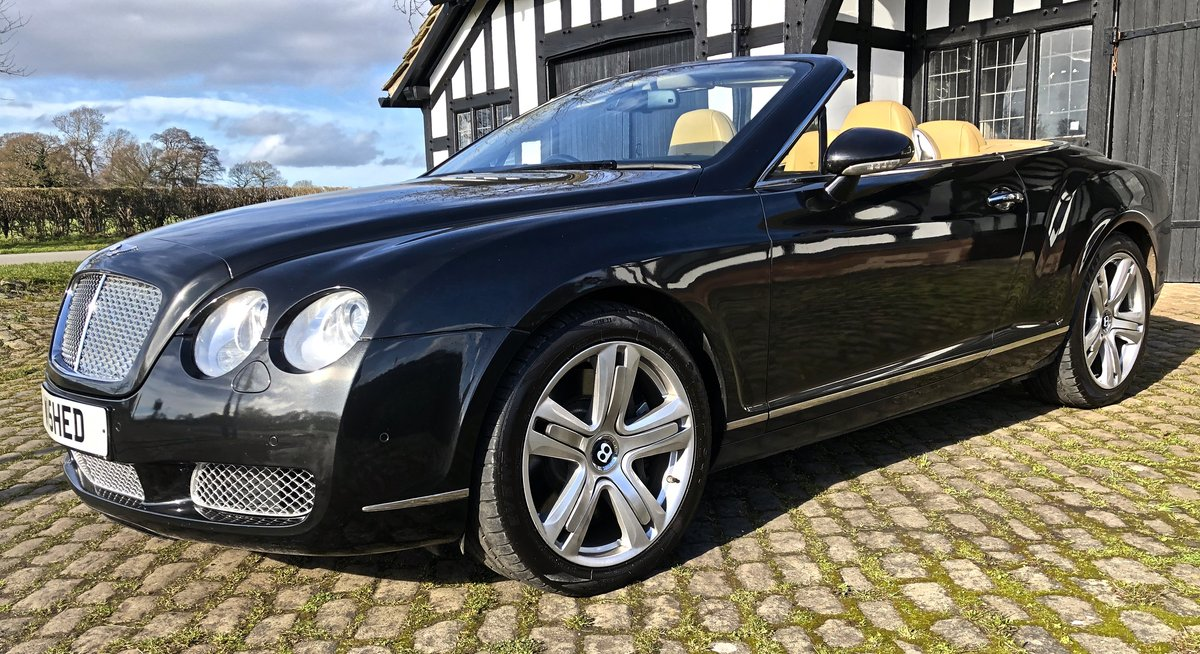 2007 BENTLEY CONTIENTAL GTC Convertible W12 For Sale (picture 2 of 12)
