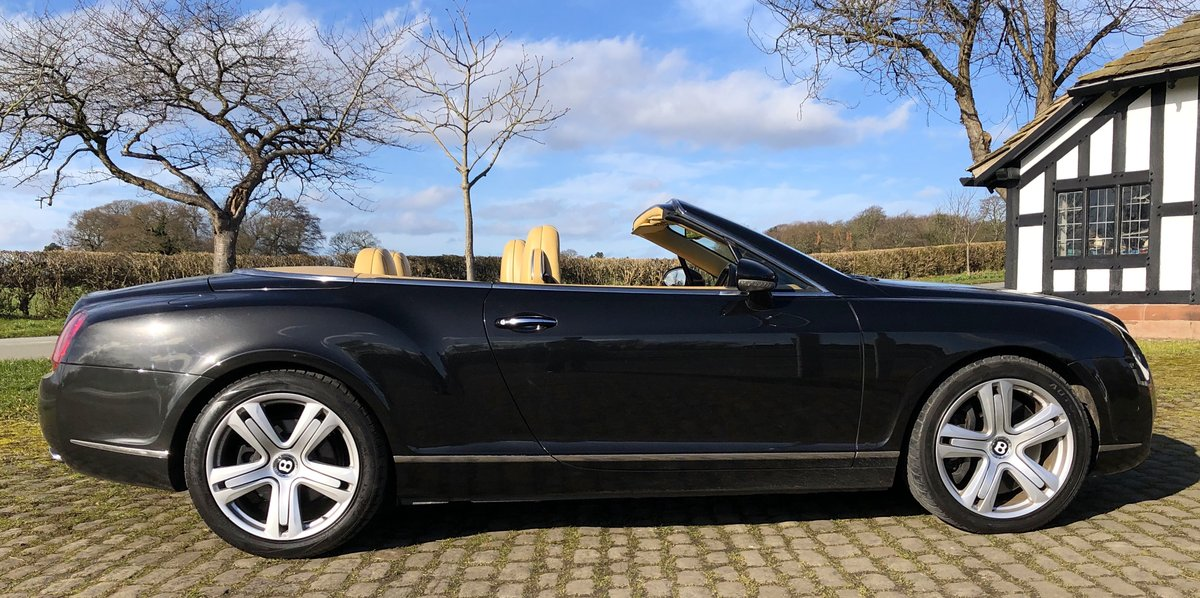 2007 BENTLEY CONTIENTAL GTC Convertible W12 For Sale (picture 3 of 12)