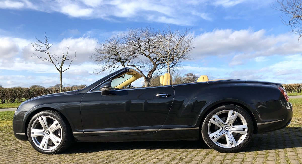 2007 BENTLEY CONTIENTAL GTC Convertible W12 For Sale (picture 4 of 12)