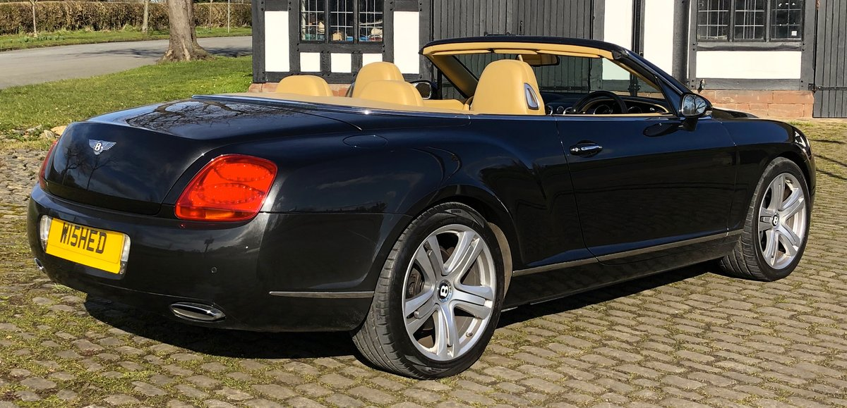 2007 BENTLEY CONTIENTAL GTC Convertible W12 For Sale (picture 5 of 12)