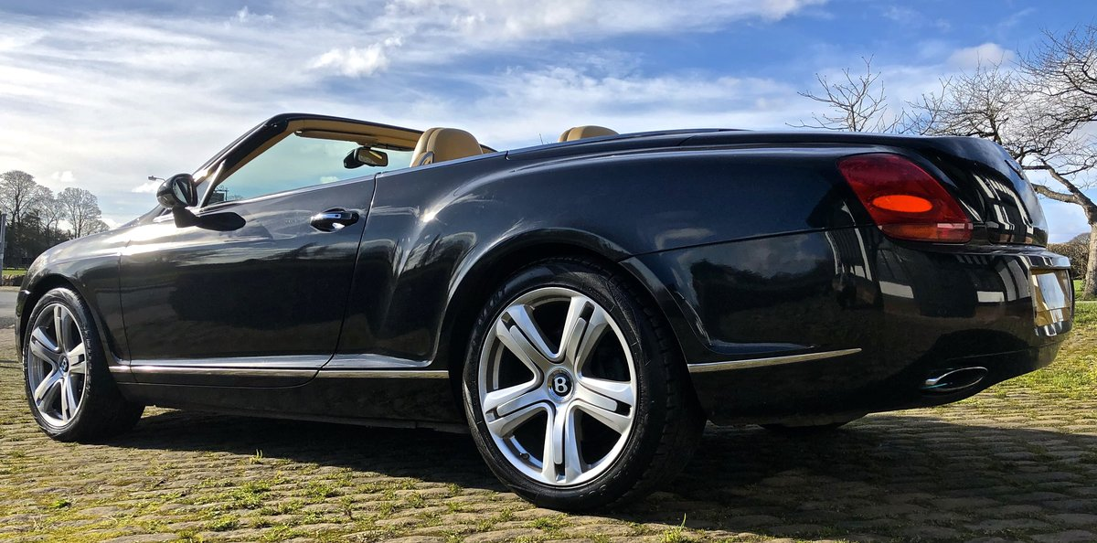 2007 BENTLEY CONTIENTAL GTC Convertible W12 For Sale (picture 6 of 12)