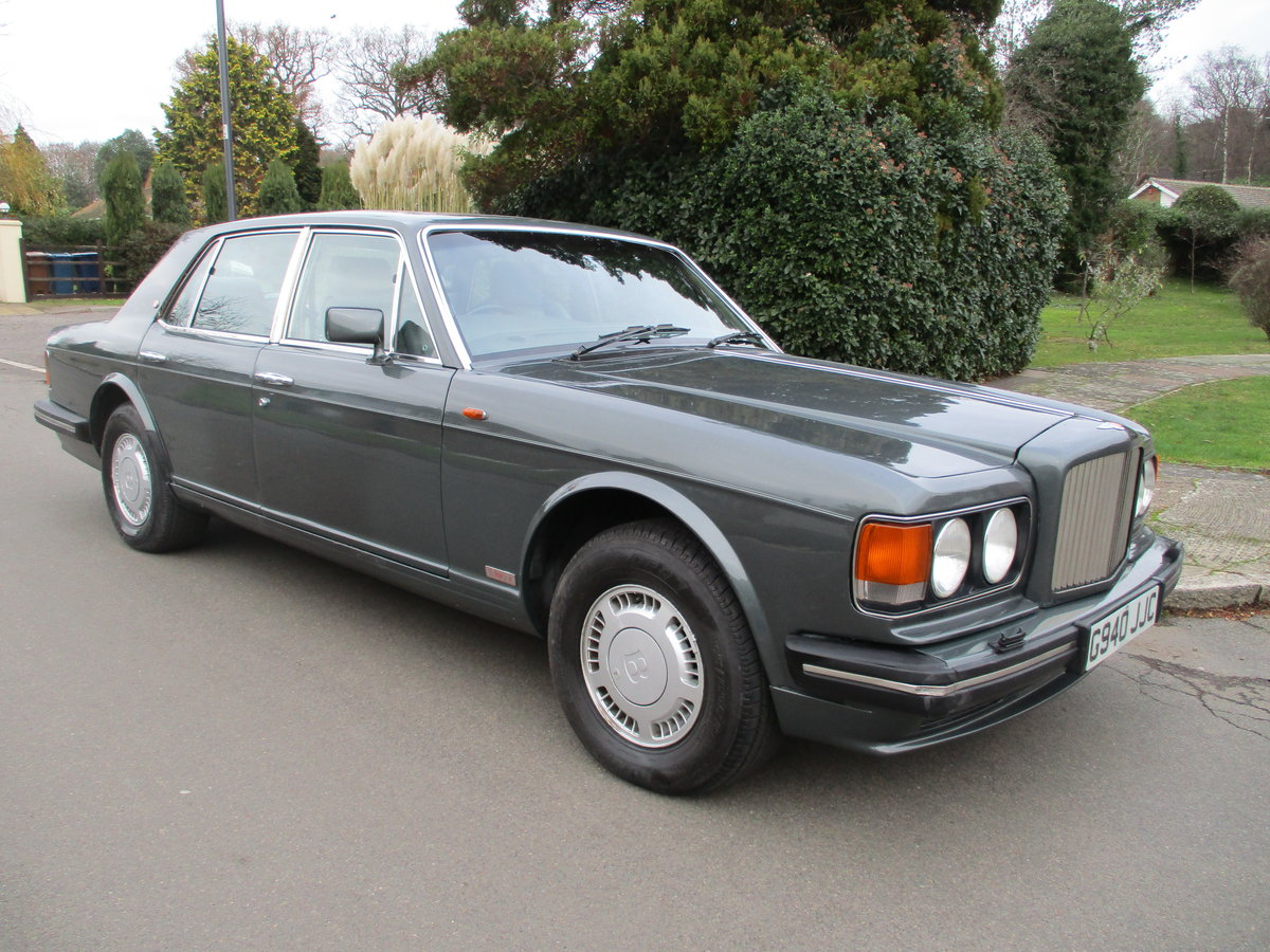 BENTLEY TURBO R 1990  ACTIVE RIDE   61,200 MILES ONLY For Sale (picture 10 of 12)