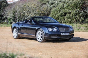 2007 Bentley Continental GTC Mulliner For Sale by Auction
