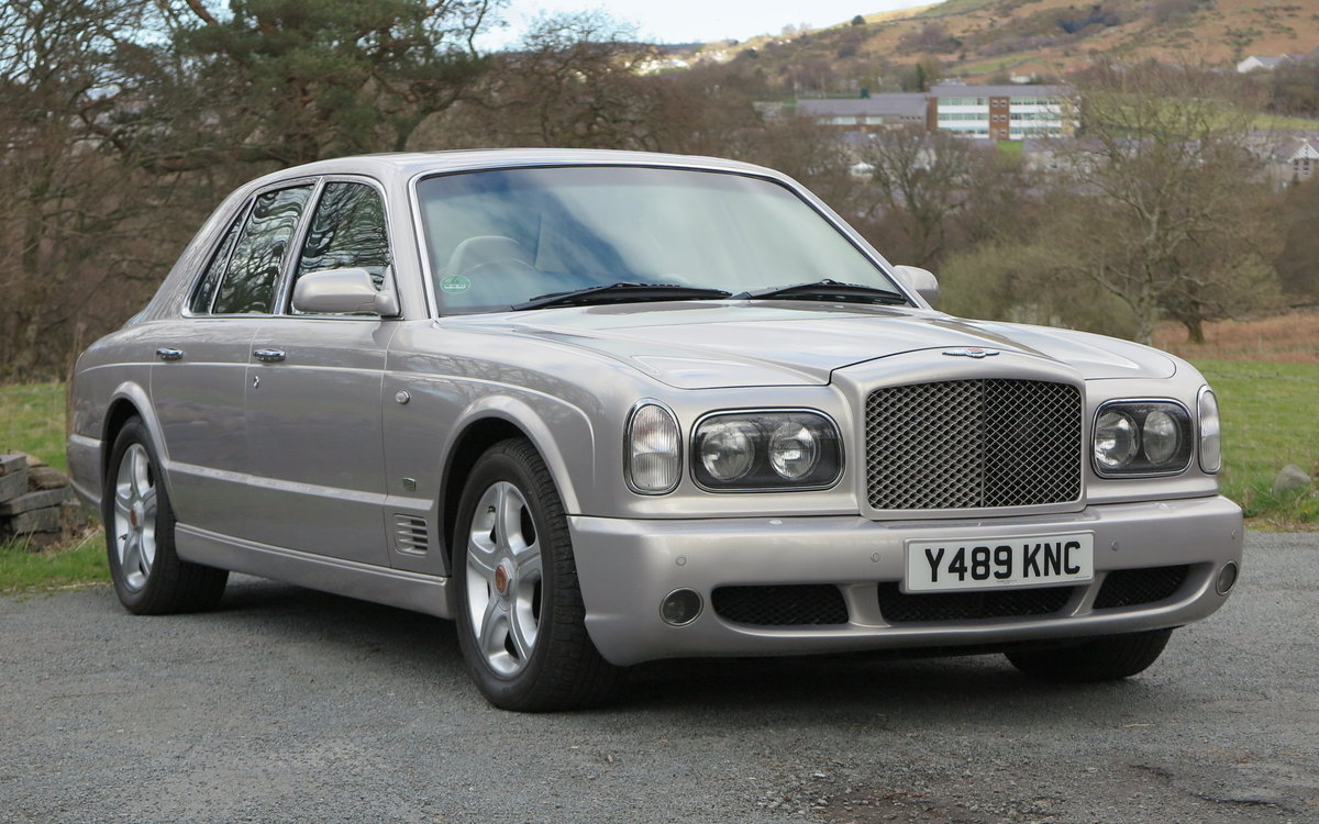 2001 Bentley Arnage Red Label Le Mans Edition For Sale (picture 2 of 6)