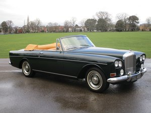 1965 Bentley S3 Continental Drophead Coupe by Mulliner/Park Ward  For Sale