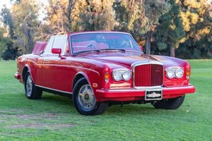 1991 Bentley Continental Convertible = 83k miles Red $obo For Sale