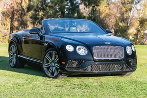 2016 Bentley Continental GT W12 = All Black 25k miles $126k