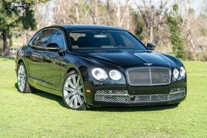 2015 Bentley Flying Spur W12 = Onyx Black 22k miles $106k