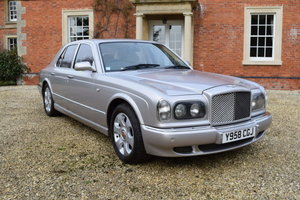 2001 Bentley Arnage Red Label For Sale by Auction
