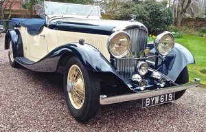 1935 BENTLEY 3 1/2 VANDEN PLASS TOURER  For Sale