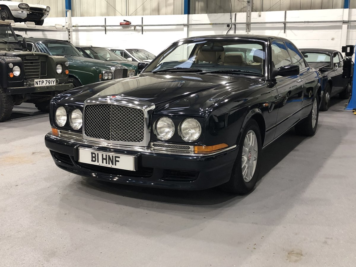 1997 **Price drop**Bentley Continental R Coupé Mulliner Park Ward For Sale (picture 2 of 6)