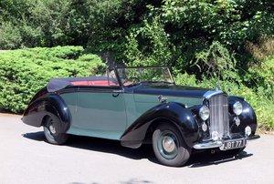 1950 Bentley MK VI Park Ward 2 dr Drophead Coupe. B283FU For Sale