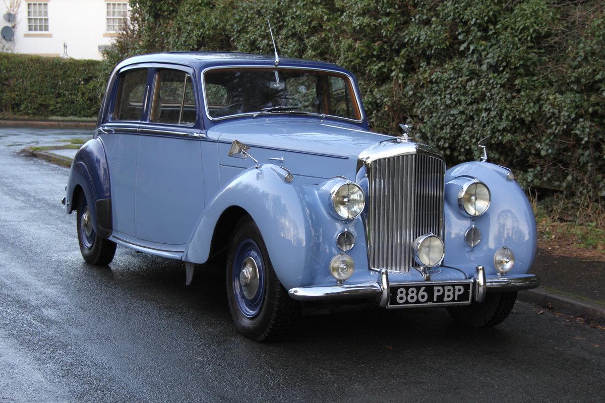 1949 Bentley MKVI Standard Steel Saloon For Sale (picture 1 of 12)