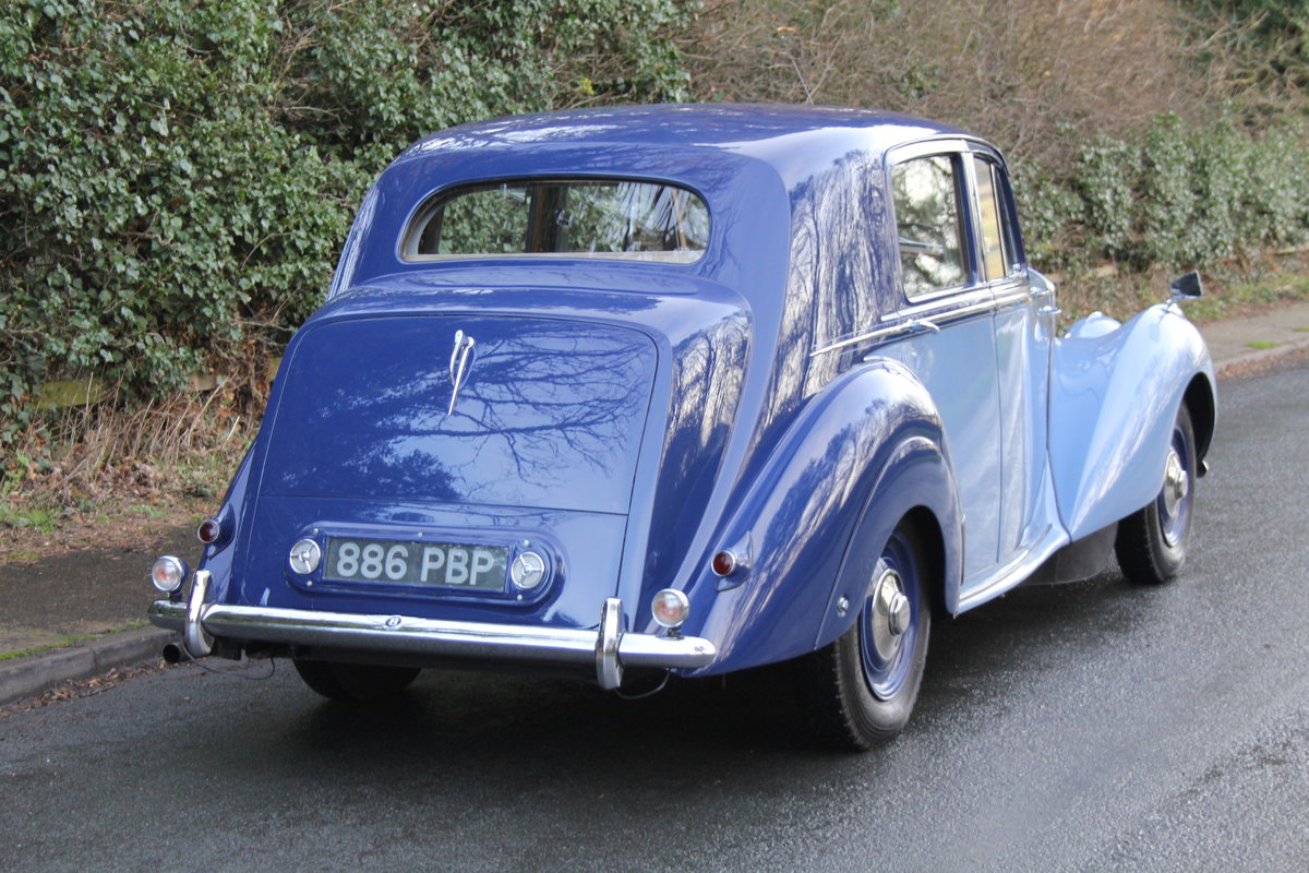 1949 Bentley MKVI Standard Steel Saloon For Sale (picture 4 of 12)