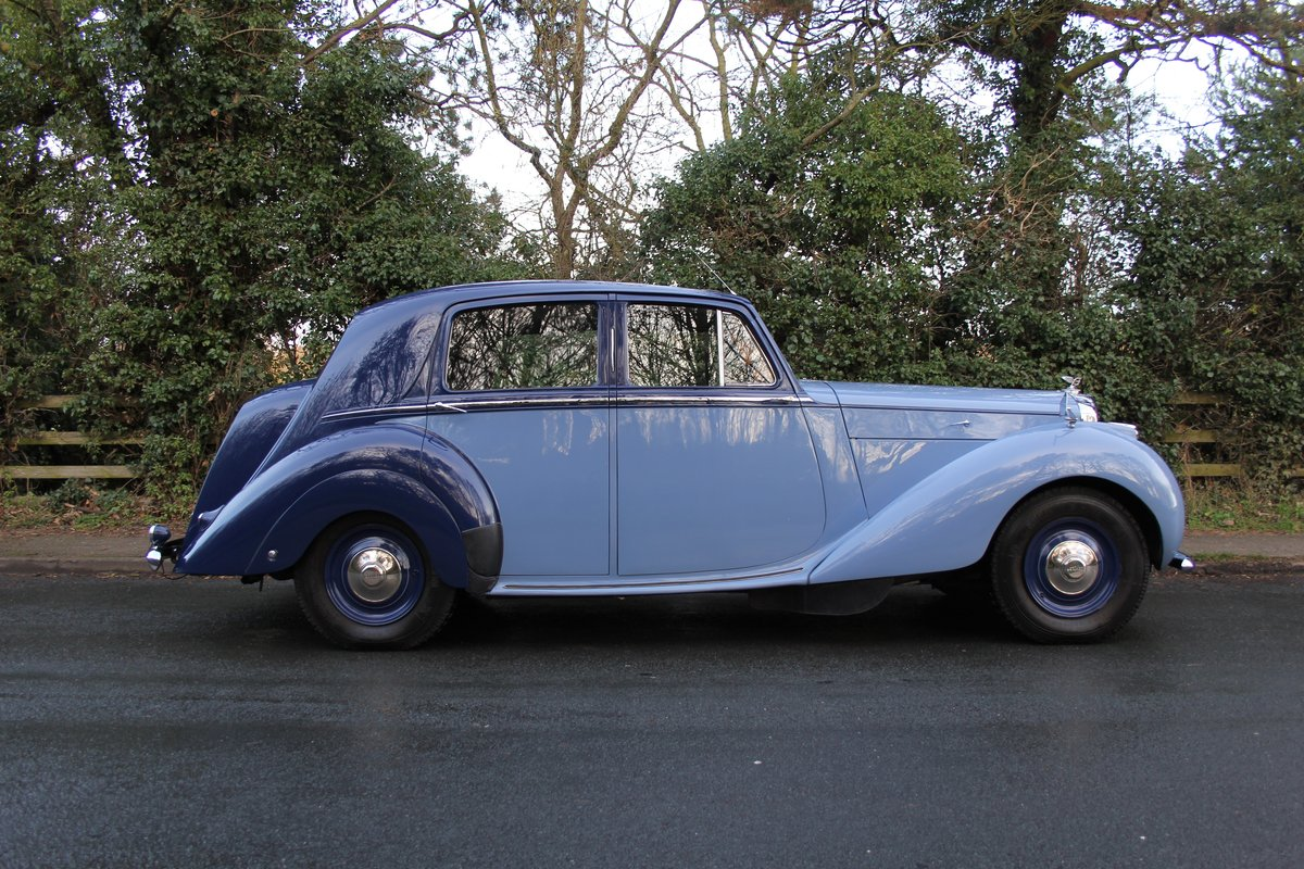 1949 Bentley MKVI Standard Steel Saloon For Sale (picture 6 of 12)