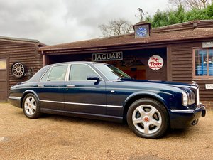 2001 BENTLEY ARNAGE RED LABEL, ONE OWNER 50,000 MILES FROM NEW! SOLD