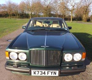 1993 Bentley TURBO R, 74000 miles,