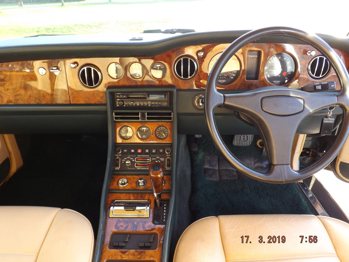 1993 Bentley TURBO R, 74000 miles, For Sale (picture 2 of 6)