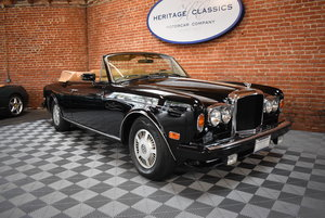1986 Bentley Continental Convertible SOLD