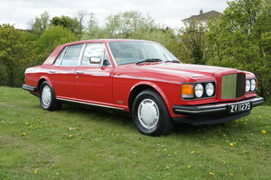 1986  BENTLEY TURBO R 40K MILES EXCELLENT CONDITION FREE DELIVERY For Sale