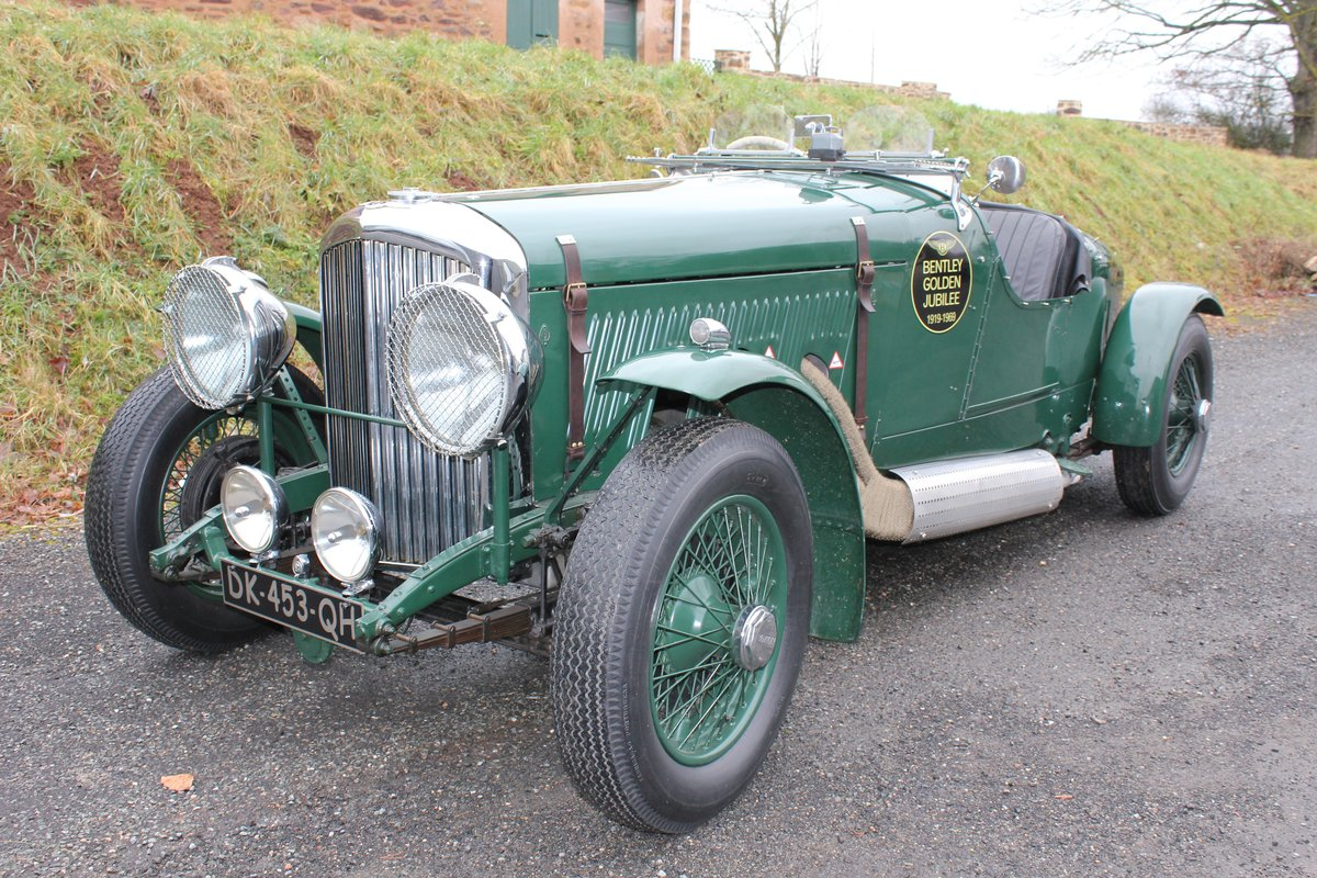 1934 Derby Bentley 3 ½ L Open Tourer Special For Sale (picture 1 of 6)