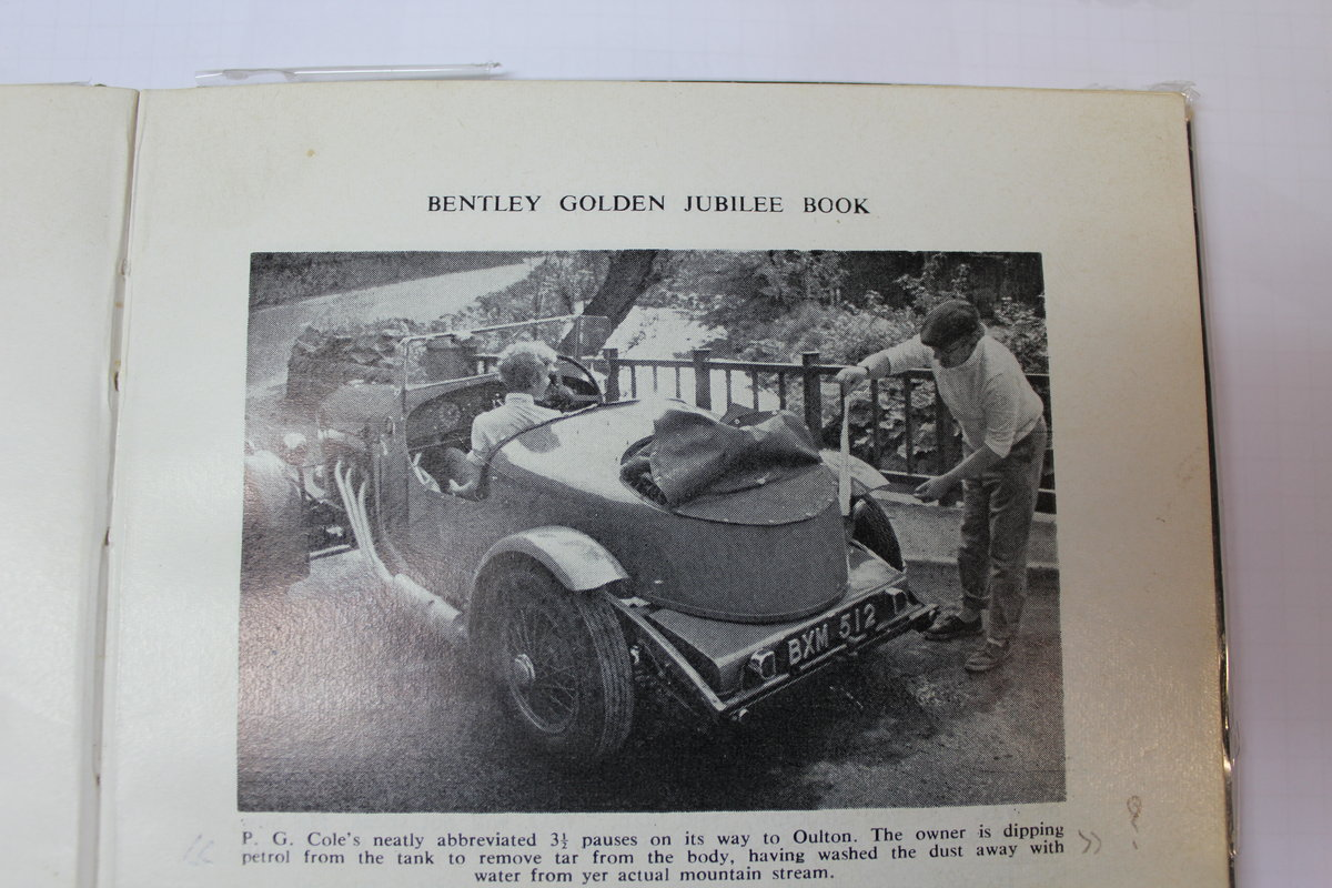 1934 Derby Bentley 3 ½ L Open Tourer Special For Sale (picture 6 of 6)