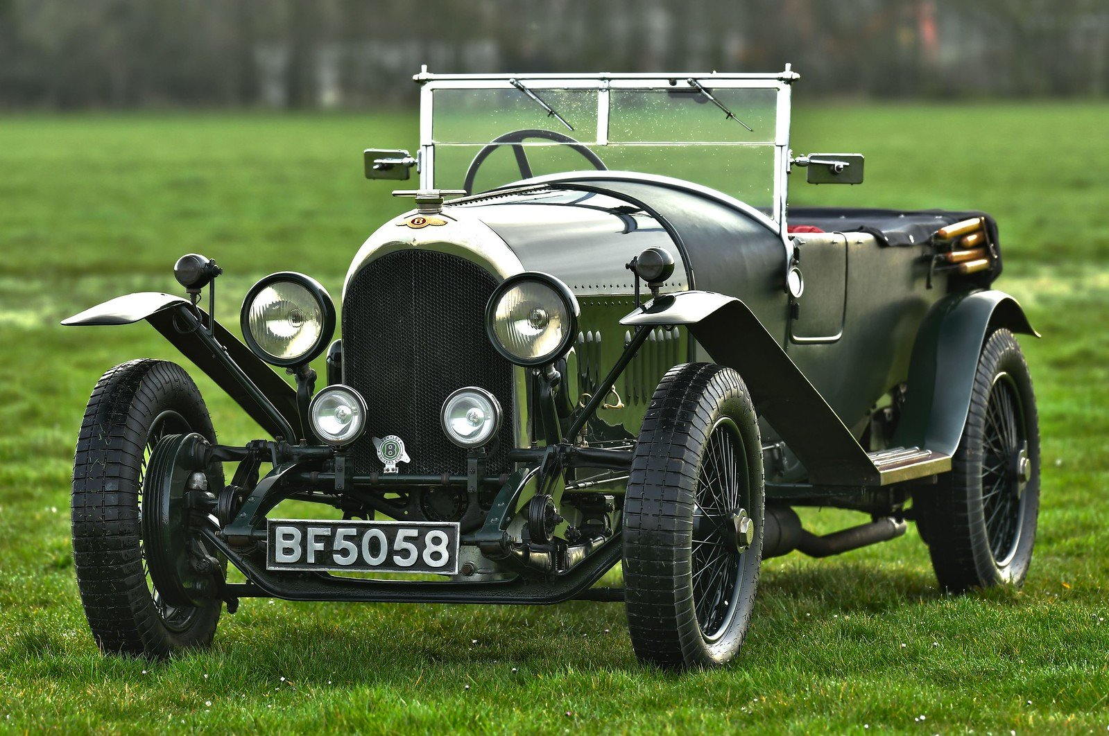 1924 Bentley 3 4.5 le Mans Style Tourer SOLD (picture 1 of 6)