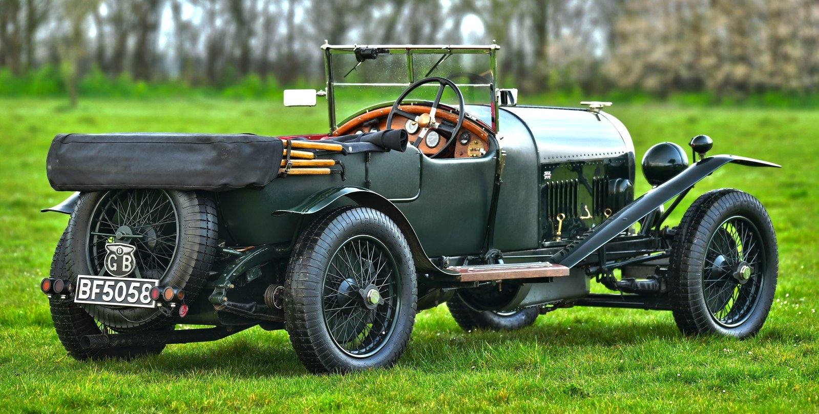 1924 Bentley 3 4.5 le Mans Style Tourer SOLD (picture 3 of 6)
