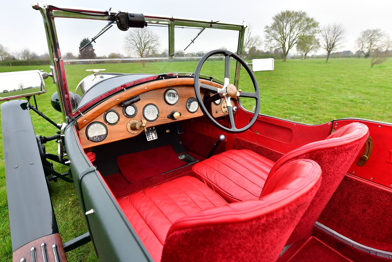 1924 Bentley 3 4.5 le Mans Style Tourer SOLD (picture 4 of 6)