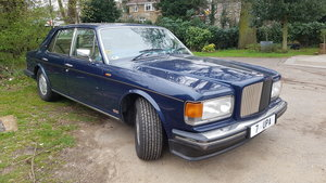 1986 Bentley turbo R with private plate For Sale