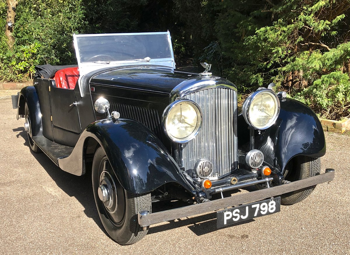 1935 BENTLEY 3 1/2 Windovers TOURER / Convertible For Sale (picture 1 of 12)