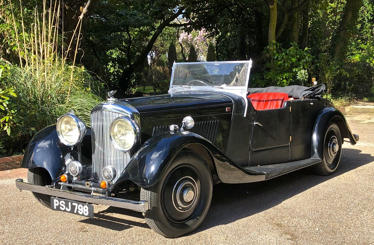 1935 BENTLEY 3 1/2 Windovers TOURER / Convertible For Sale (picture 2 of 12)