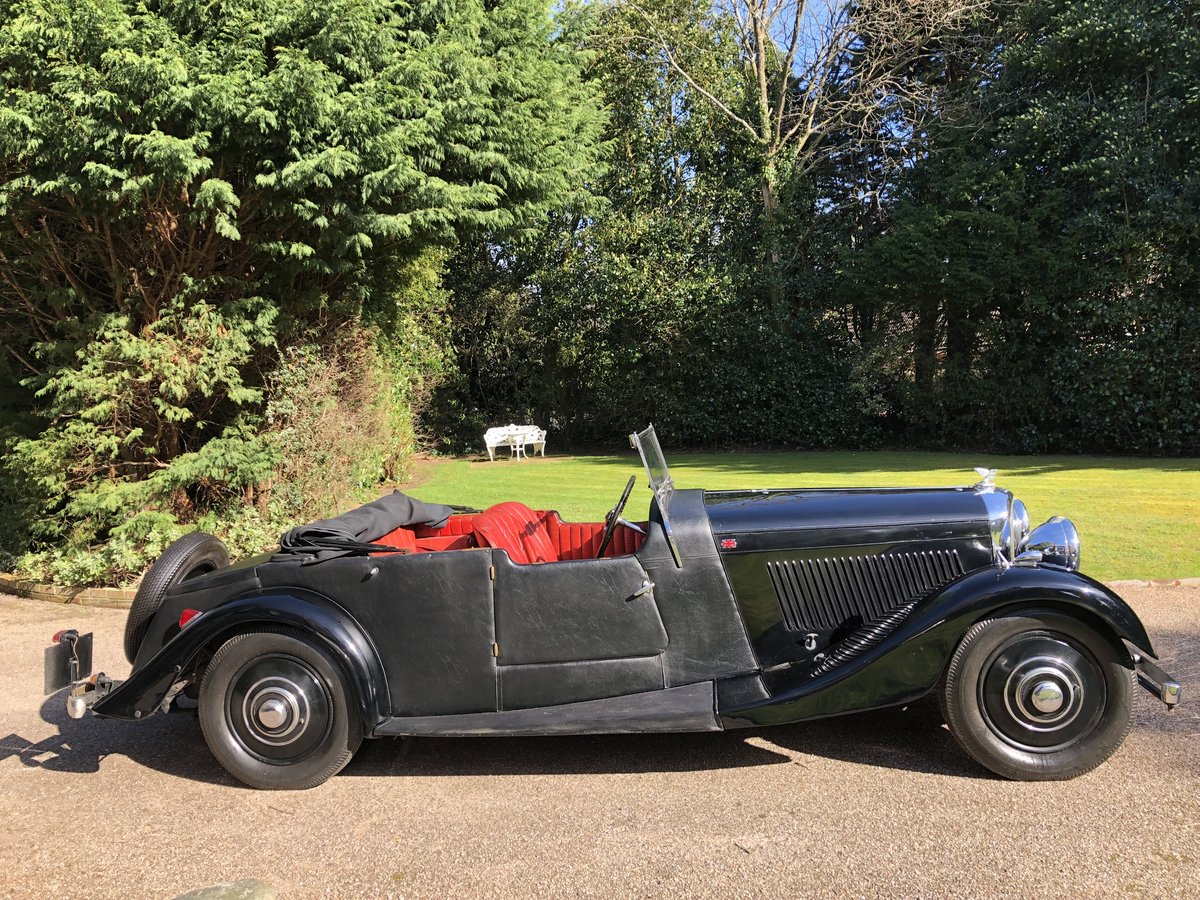 1935 BENTLEY 3 1/2 Windovers TOURER / Convertible For Sale (picture 3 of 12)