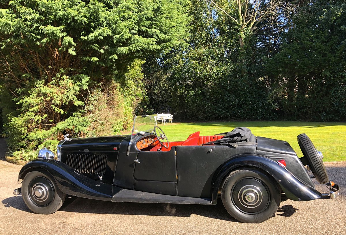 1935 BENTLEY 3 1/2 Windovers TOURER / Convertible For Sale (picture 4 of 12)