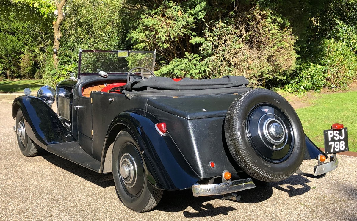 1935 BENTLEY 3 1/2 Windovers TOURER / Convertible For Sale (picture 5 of 12)