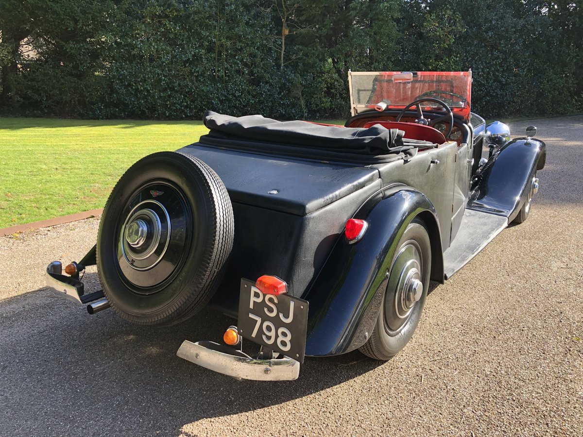 1935 BENTLEY 3 1/2 Windovers TOURER / Convertible For Sale (picture 6 of 12)