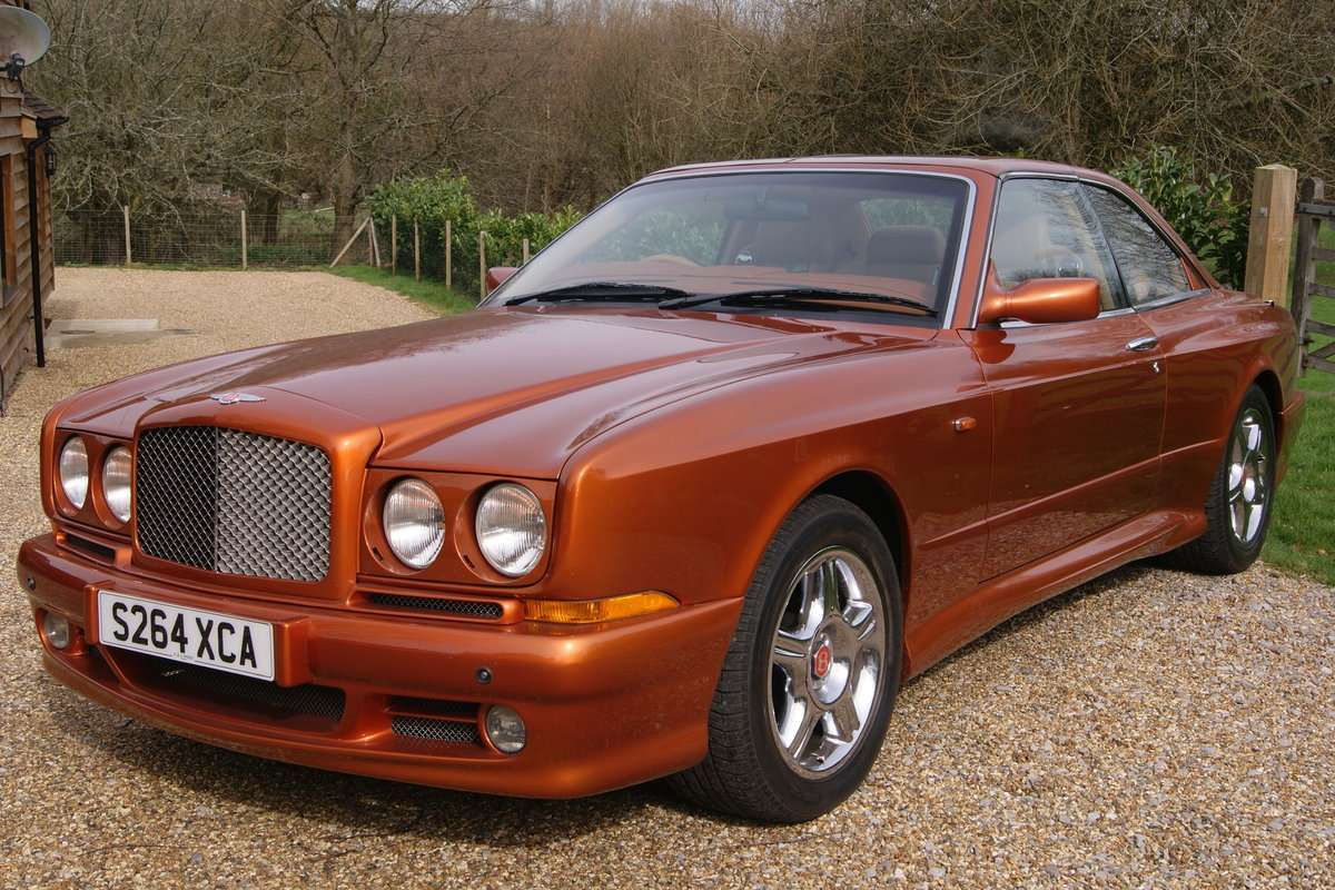 1998 Bentley Continental SC BIRMINGHAM INT MOTOR SHOW CAR For Sale (picture 2 of 6)