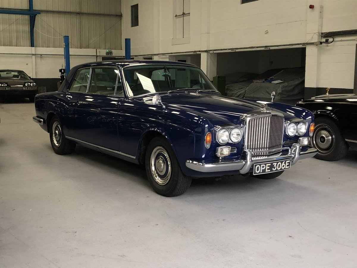1967 Bentley Mulliner Park Ward 2 Door Coupé  For Sale (picture 1 of 6)
