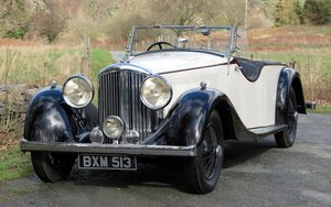 1935 Bentley 3 ½  Litre 'Cutaway Door' Open Tourer B192DG For Sale